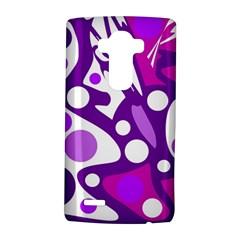 Purple and white decor LG G4 Hardshell Case