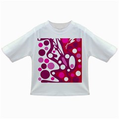 Magenta and white decor Infant/Toddler T-Shirts