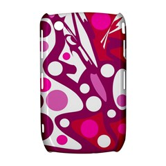 Magenta and white decor Curve 8520 9300