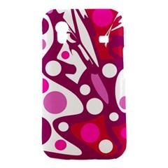 Magenta and white decor Samsung Galaxy Ace S5830 Hardshell Case