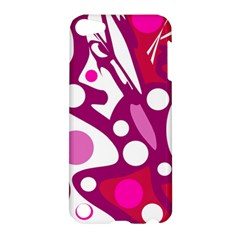 Magenta and white decor Apple iPod Touch 5 Hardshell Case