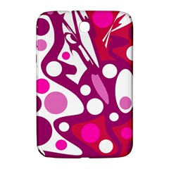 Magenta And White Decor Samsung Galaxy Note 8 0 N5100 Hardshell Case