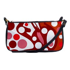 Red and white decor Shoulder Clutch Bags