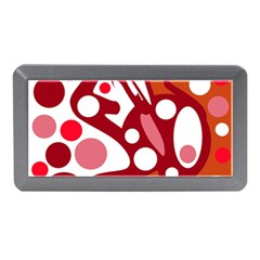 Red and white decor Memory Card Reader (Mini)