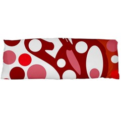 Red and white decor Body Pillow Case Dakimakura (Two Sides)