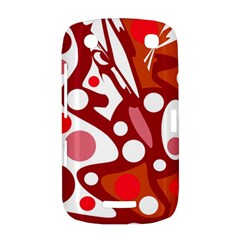 Red and white decor BlackBerry Curve 9380