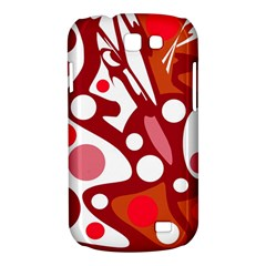 Red and white decor Samsung Galaxy Express I8730 Hardshell Case