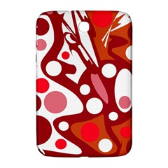 Red and white decor Samsung Galaxy Note 8.0 N5100 Hardshell Case