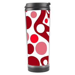 Red and white decor Travel Tumbler