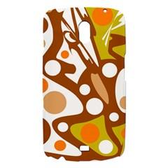 Orange and white decor Samsung Galaxy Nexus i9250 Hardshell Case