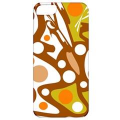 Orange and white decor Apple iPhone 5 Classic Hardshell Case