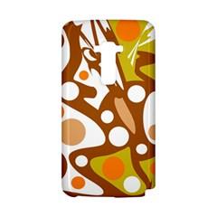 Orange and white decor LG G Flex