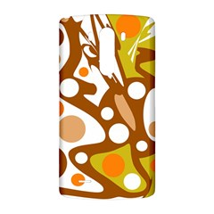 Orange and white decor LG G3 Back Case