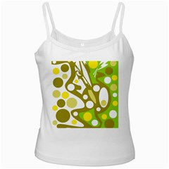 Green and yellow decor Ladies Camisoles