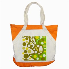 Green and yellow decor Accent Tote Bag
