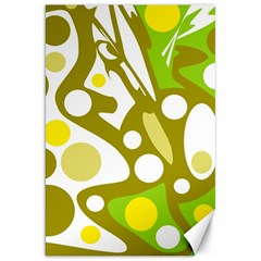 Green and yellow decor Canvas 20  x 30
