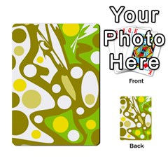 Green and yellow decor Multi-purpose Cards (Rectangle)