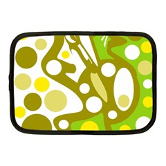Green and yellow decor Netbook Case (Medium)