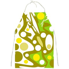 Green and yellow decor Full Print Aprons