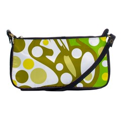 Green and yellow decor Shoulder Clutch Bags