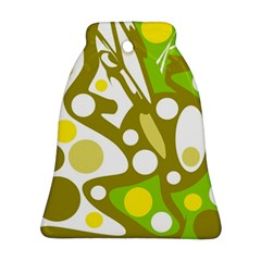 Green and yellow decor Ornament (Bell)