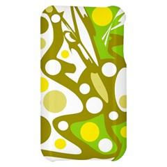 Green and yellow decor Apple iPhone 3G/3GS Hardshell Case