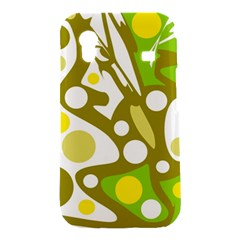 Green and yellow decor Samsung Galaxy Ace S5830 Hardshell Case