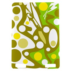Green and yellow decor Kindle Touch 3G