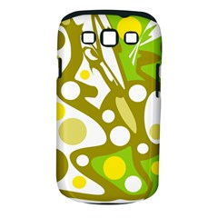 Green and yellow decor Samsung Galaxy S III Classic Hardshell Case (PC+Silicone)