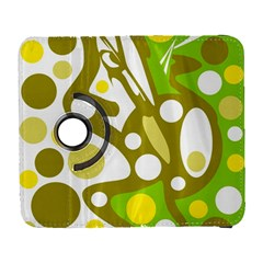 Green and yellow decor Samsung Galaxy S  III Flip 360 Case