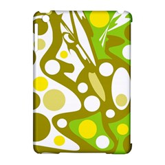 Green and yellow decor Apple iPad Mini Hardshell Case (Compatible with Smart Cover)