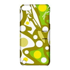 Green and yellow decor Apple iPod Touch 5 Hardshell Case with Stand
