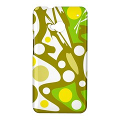 Green and yellow decor HTC One M7 Hardshell Case
