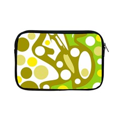 Green and yellow decor Apple iPad Mini Zipper Cases