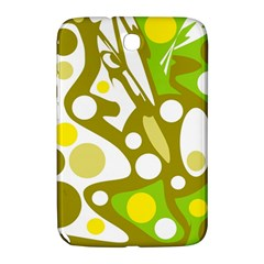 Green and yellow decor Samsung Galaxy Note 8.0 N5100 Hardshell Case