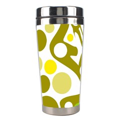 Green and yellow decor Stainless Steel Travel Tumblers