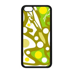 Green and yellow decor Apple iPhone 5C Seamless Case (Black)