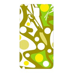 Green and yellow decor Samsung Galaxy Note 3 N9005 Hardshell Back Case