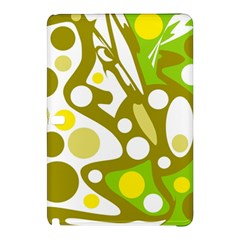 Green and yellow decor Samsung Galaxy Tab Pro 12.2 Hardshell Case