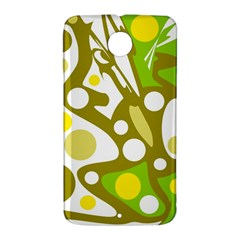 Green and yellow decor Nexus 6 Case (White)