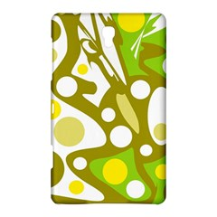 Green and yellow decor Samsung Galaxy Tab S (8.4 ) Hardshell Case