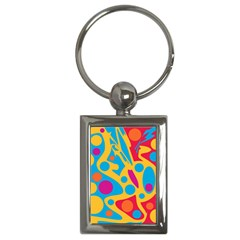 Colorful decor Key Chains (Rectangle)
