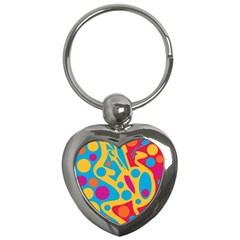 Colorful decor Key Chains (Heart)