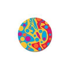 Colorful decor Golf Ball Marker (10 pack)