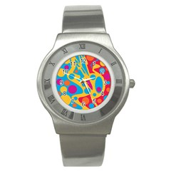 Colorful decor Stainless Steel Watch