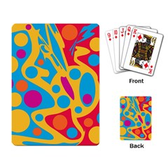 Colorful decor Playing Card