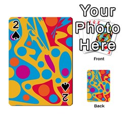 Colorful decor Playing Cards 54 Designs