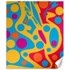 Colorful decor Canvas 20  x 24