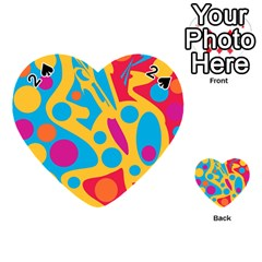Colorful decor Playing Cards 54 (Heart)