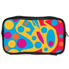 Colorful decor Toiletries Bags
